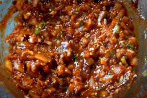 Ssamjang - koreanische würzige Sauce