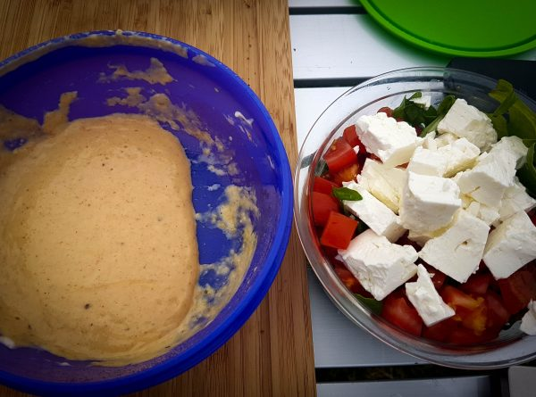 Comeback Sauce und Salat