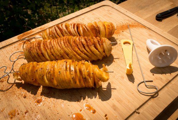 Spiralkartoffeln mit dem ALBEEY SPIRALSCHNEIDER