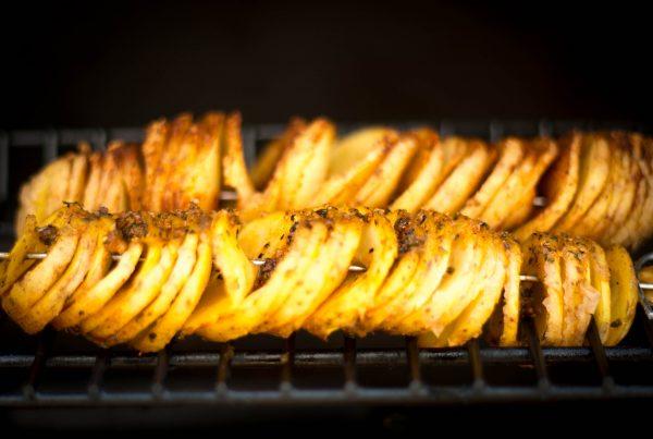 Tornado Kartoffeln indirekt grillen