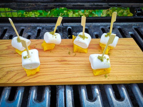 Marshmallow Obst Spieße