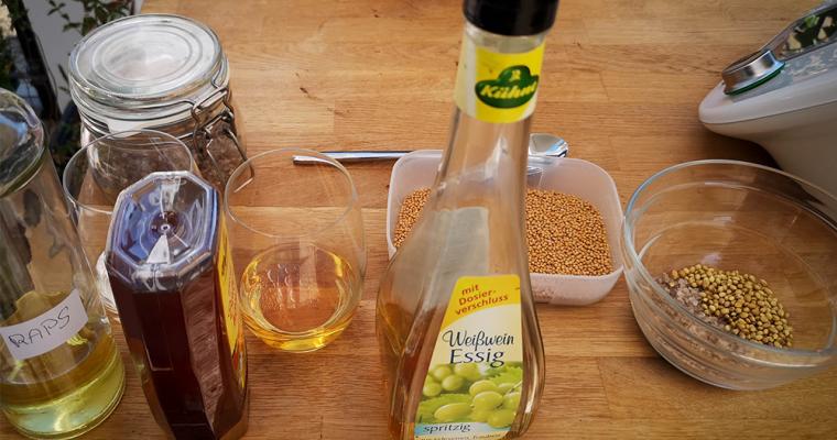 Honig-Koriander Senf
