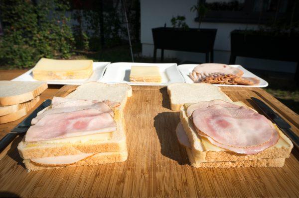 Monte Cristo Sandwich belegen