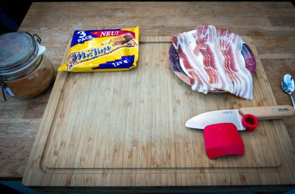 Mr. Jim mit Bacon