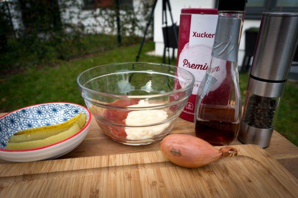 Himbeer Burger Sauce - Zutaten