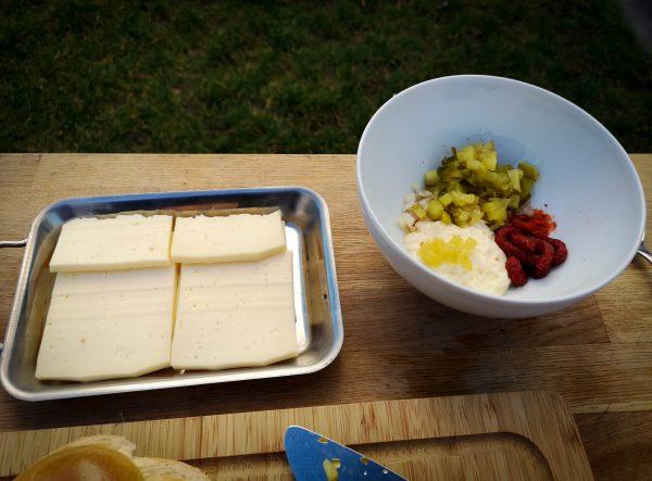 Raclette Käse Pfännchen