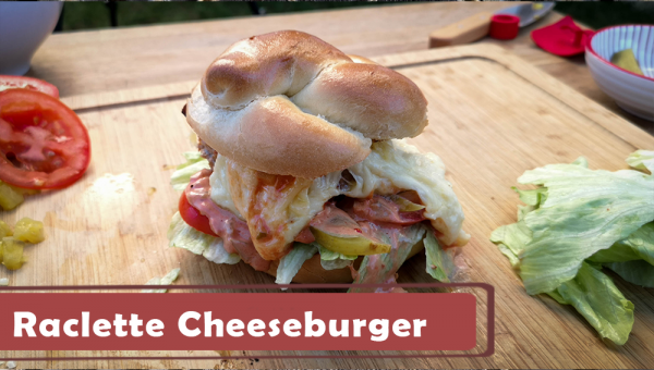 Raclette Cheeseburger