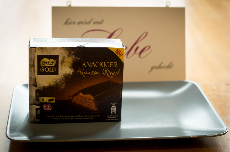 Nestlé Gold Knackiger Mousse Riegel