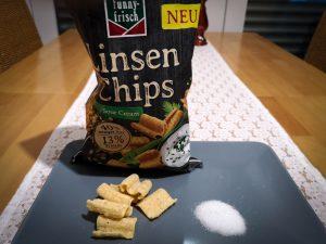 funny frisch linsen chips sour cream & zucker