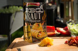 Hengstenberg BBQ Kraut - Sweet Golden Curry Mango