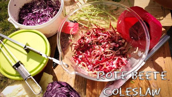 Rote Beete Coleslaw