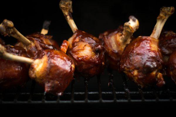 Chicken Lollipops mit Tamarind BBQ Sauce