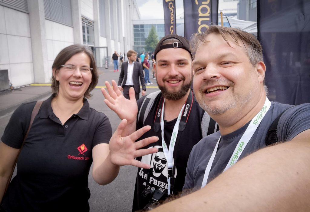 spoga 2019 - Mr. Freedy BBQ und Svenja von Grillcoach Gerrit