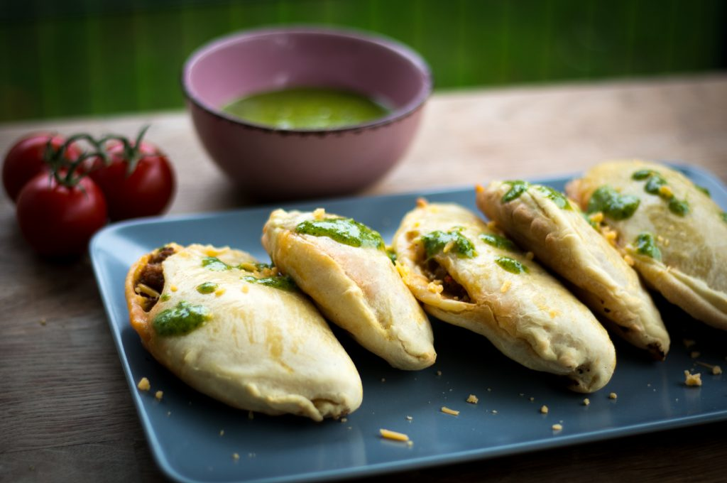 Hackfleisch Empanadas - Mojo Verde
