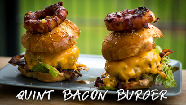 Quint Bacon Burger