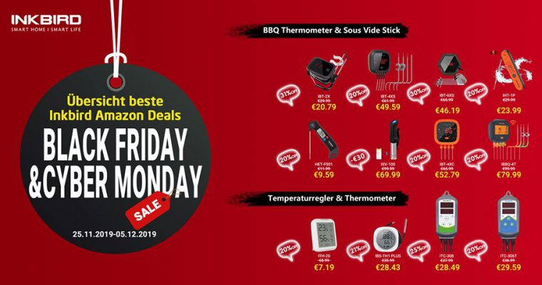 Black Friday & Cyber Monday – Inkbird