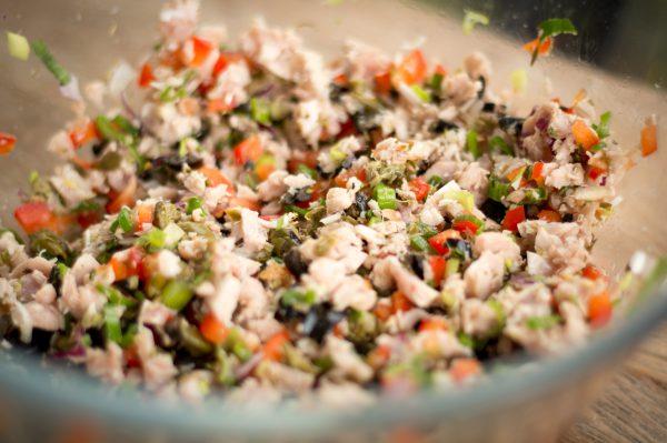 Thunfisch Empanada Füllung
