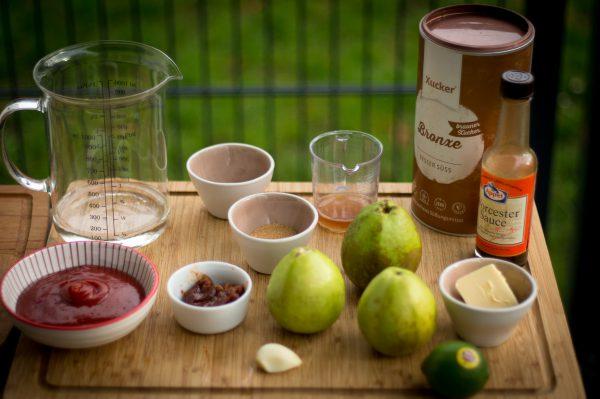 Guave BBQ Sauce Zutaten