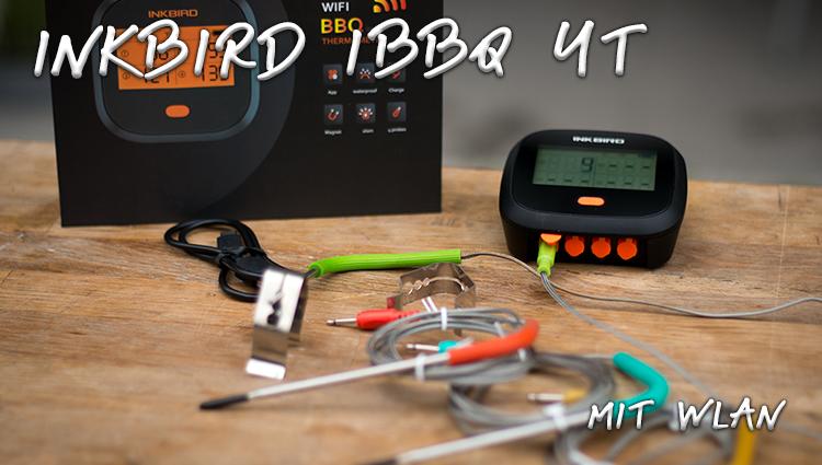 Inkbird IBBQ 4T mit WLAN