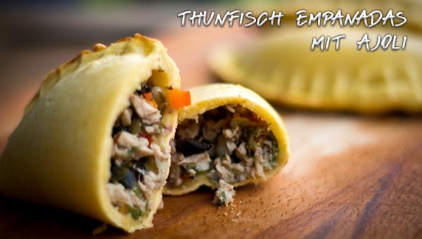 Thunfisch Empanadas mit Ajoli