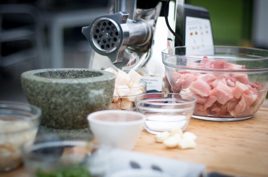Zutaten für eine Salsiccia