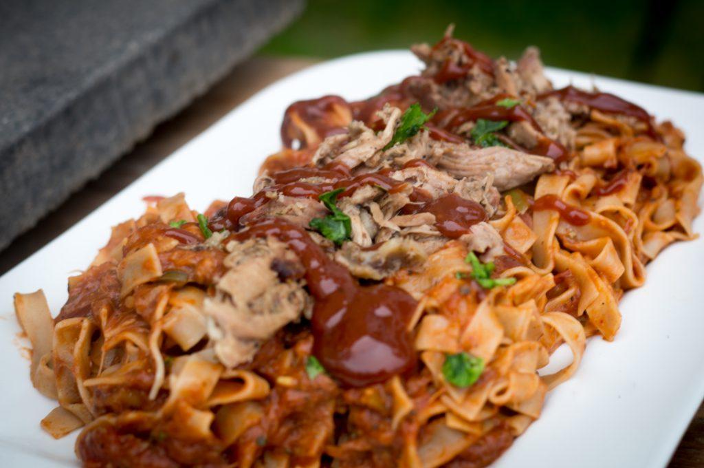 memphis bbq spaghetti