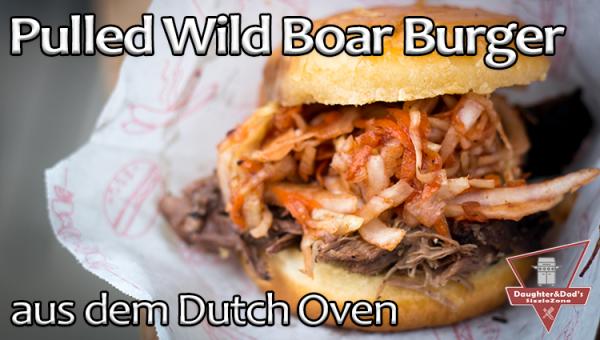 Pulled Wild Boar Burger
