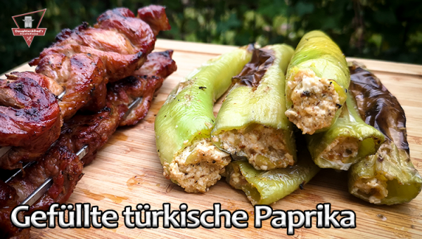 Gefüllte türkische Paprika