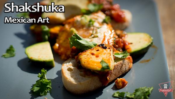 Shakshuka nach Mexikanischer Art