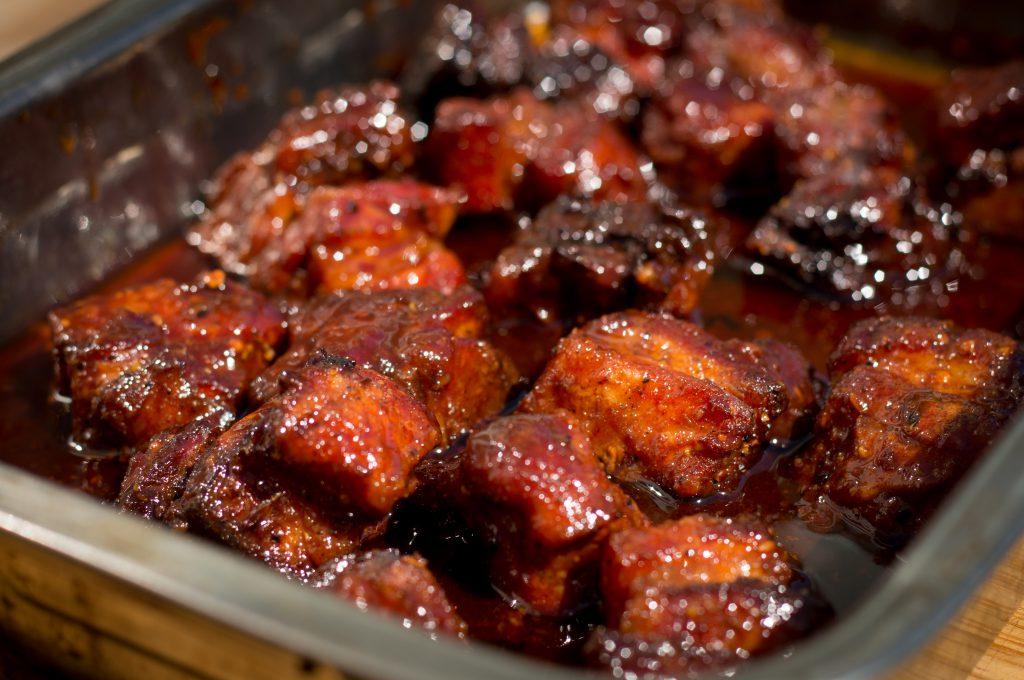 Pork Belly Burnt Ends - Glace