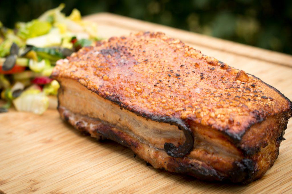 Knuspriger Chinesischer Schweinebauch - Crispy Chinese Pork Belly