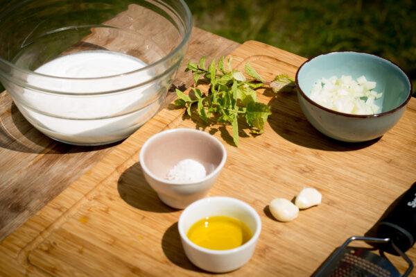 Minz Joghurt Zutaten