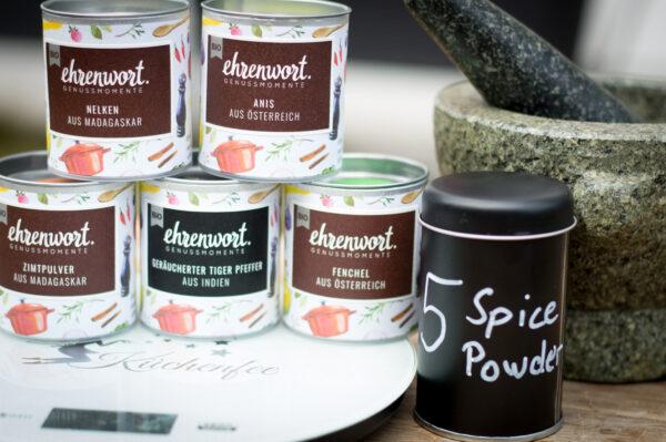 5 Spice Powder mit Ehrenwort Genussmomente
