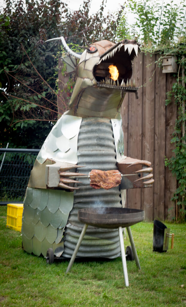 Drache von Feuer & Eisen