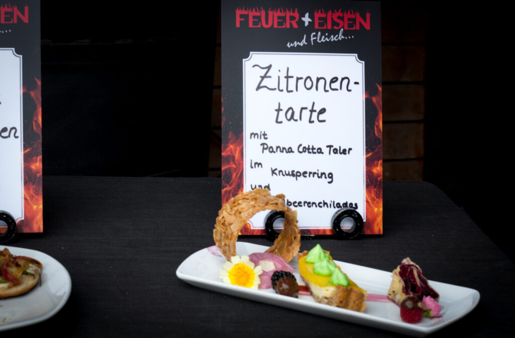 Dessert Feuer & Eisen