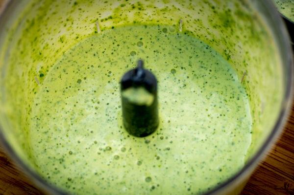 peruanisches Grüner Dip - Zutaten