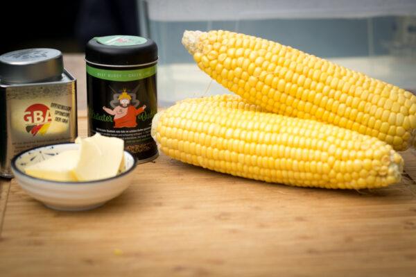 geschälter Mais