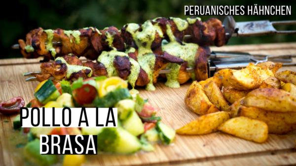 Pollo a la Brase - peruanisches Hähnchen