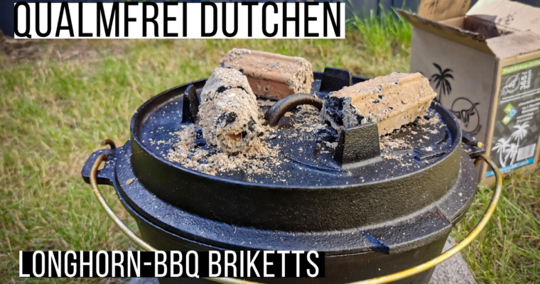 Longhorn-BBQ Briketts – Qualmfrei Dutchen