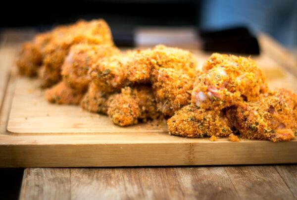Panierte Chicken Wings