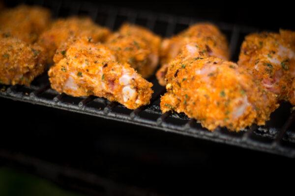 Parmesan Chicken Wings