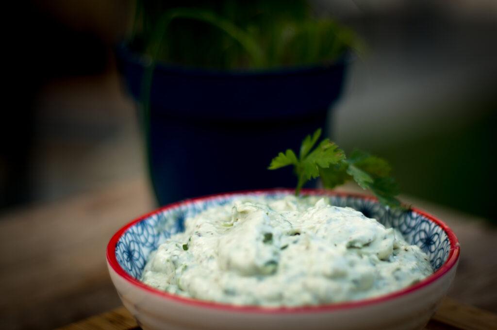 Blue Cheese Dip - Blauschimmel Käse Dip