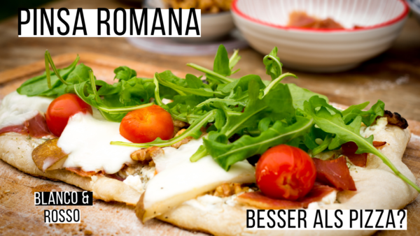 Pinsa Romana Besser als Pizza YouTube
