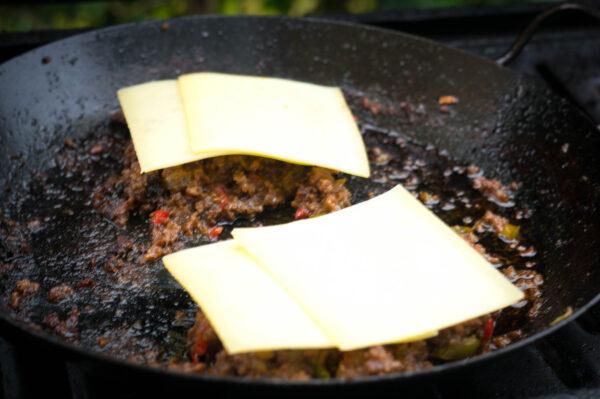 Sloppy Joes mit Käse