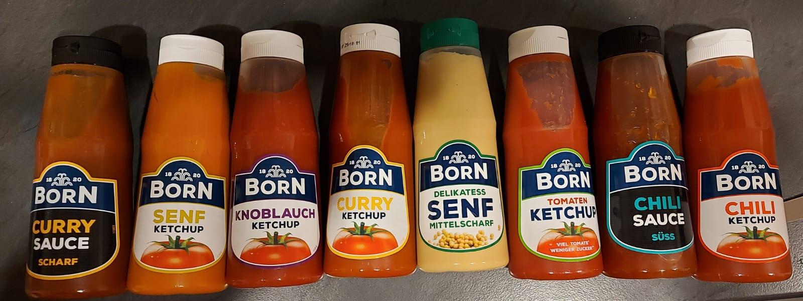 Born Saucen