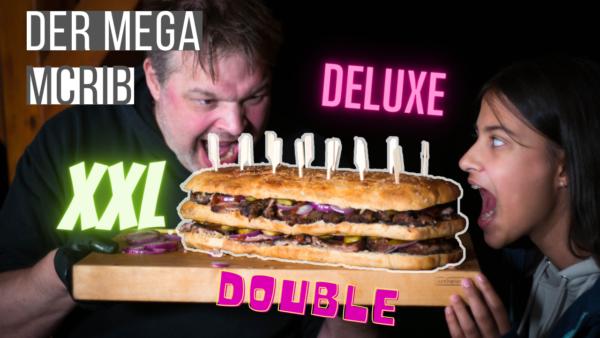 XXL Double Deluxe McRib