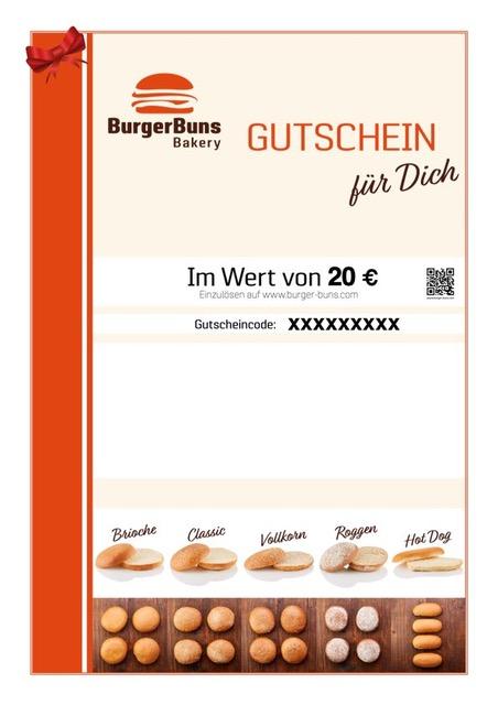 Burger Buns Bakery - Gutschein