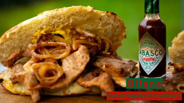 Bifana - Das portugiesische Sandwich