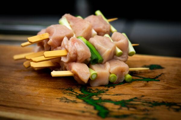 yakitori - Japanische hähnchenspieße