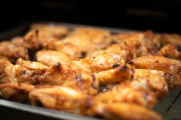 Chicken Wings indirekt gegrillt
